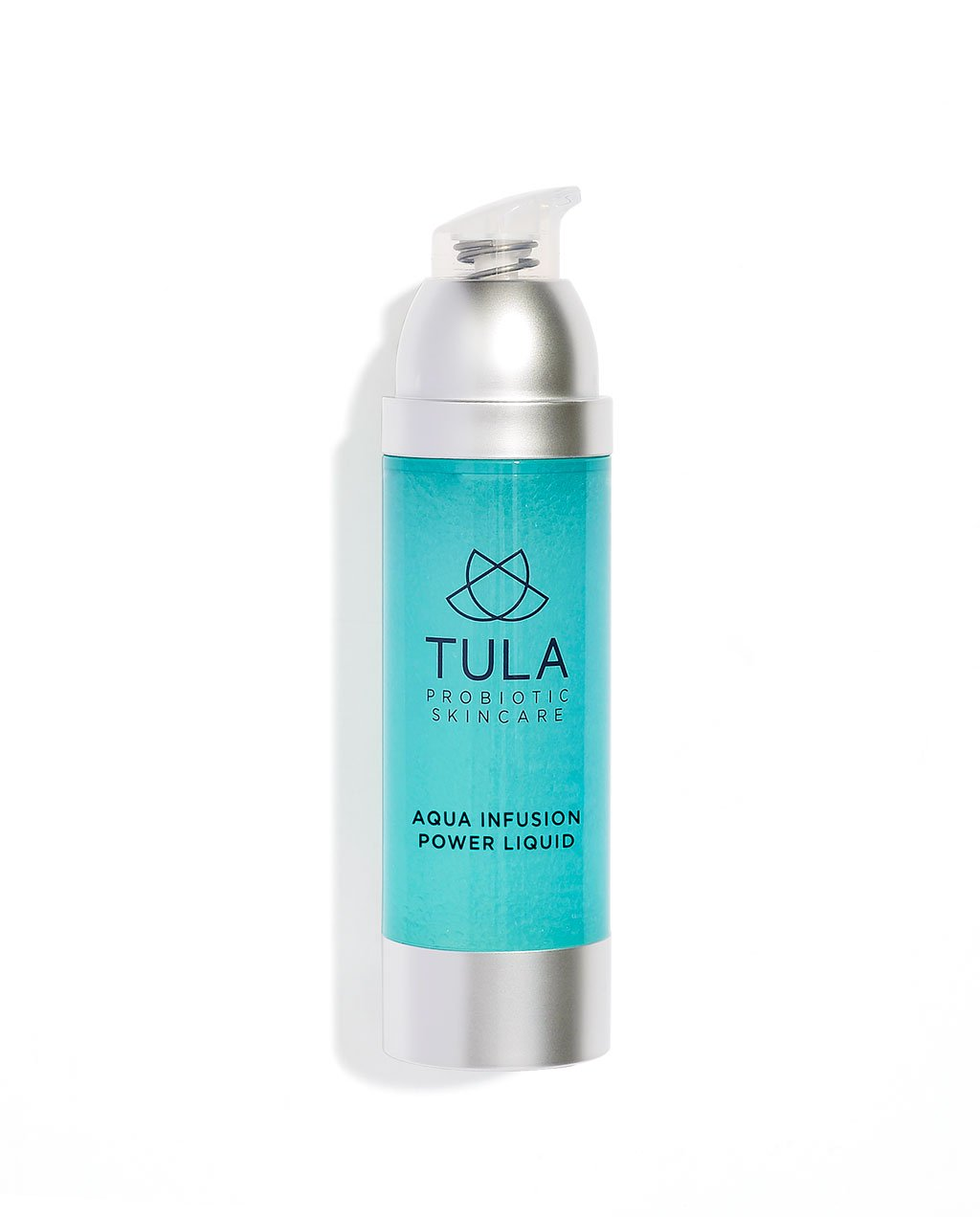 TULA Probiotic Skin Care Aqua Infusion Power Liquid | Face Serum with Hyaluronic Acid, Deeply Hydrate and Smooth Apperance of Stressed Skin | 1 oz