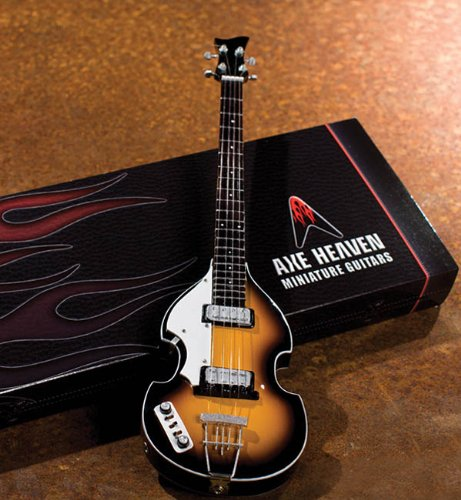 Mccartney Violin Bass Paul (Axe Heaven Classic Violin Miniature Bass Replica Paul Mccartney)