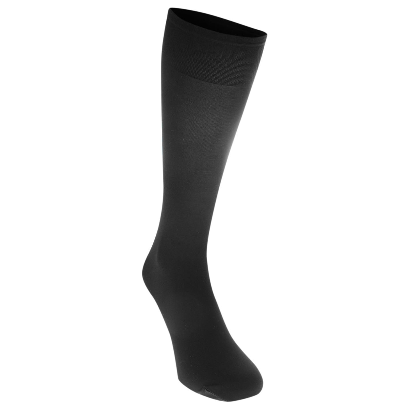 6105584c4 Rock and Rags Womens Tights Opaque 40 denier Knee Highs Underwear Stretch  High Black One Size  Amazon.co.uk  Shoes   Bags
