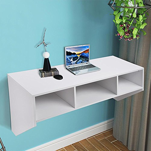 floating desk for small spaces