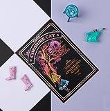 Lago Scratch Coloring Postcard Alice in Wonderland - Cheshire Cat