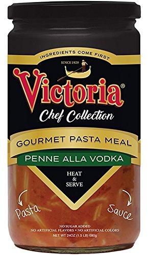 VICTORIA, PASTA, PENNE ALLA VODKA, Pack of 6, Size 24 FZ - No Artificial Ingredients ()