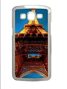Samsung Galaxy Grand 2 Case - La Tour Eiffel Custom Samsung Galaxy Grand 2 Case Cover - Polycarbonate - Transparent