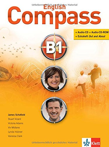 English Compass B1: Student's Book mit 2 Audio-CD/CD-ROMs und Beiheft Out and About