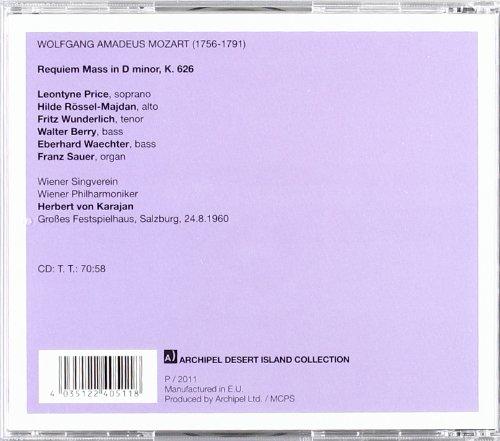 Wolfgang Amadeus Mozart: Requiem Mass in D Minor