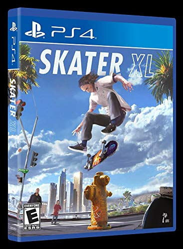 Skater XL (It is a simulation skateboarding video game)