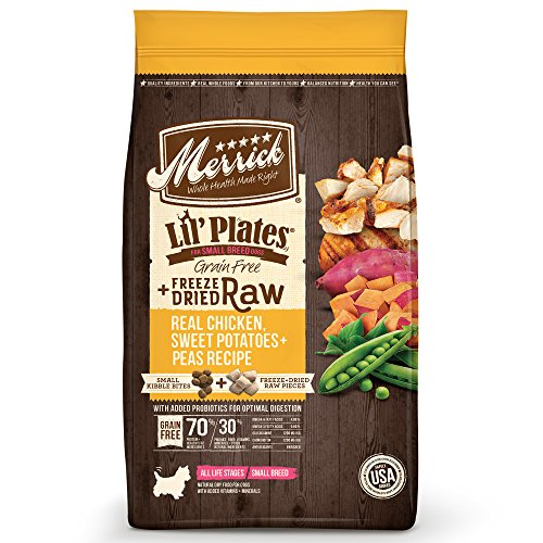 Merrick Lil Plates Grain with Raw Bites Dry Dog Food