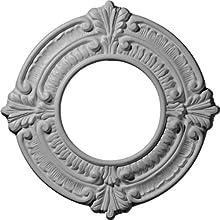 Ekena Millwork CM09BN Ceiling Medallion Primed