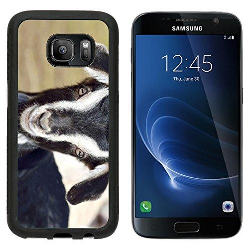 msd-premium-samsung-galaxy-s7-aluminum-backplate-bumper-snap-case-funny-baby-goat-portrait-image-277