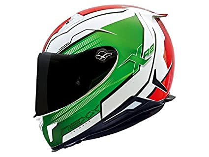 Nexx XR2 vortex Full Face Helmet (XXX-Large, Green)
