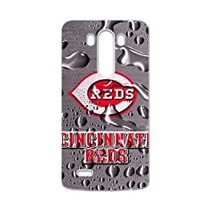 Forever Collectibles Reds MLB Dual Hybrid Custom Case for LG G3 by ruishername