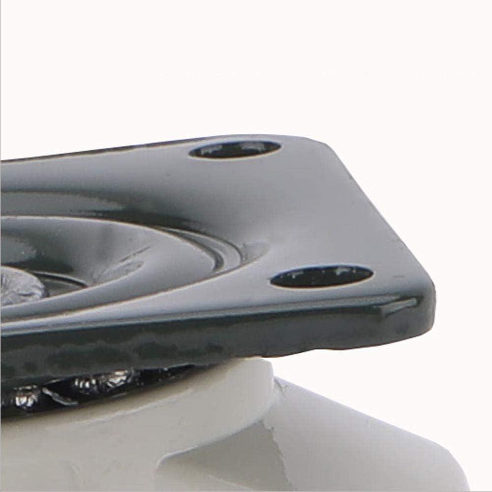 Ruote industriali Piatte Ruote per carrelli Ruote Foma Ruote di Supporto per mobili Rotelle di livellamento per carichi Pesanti 4 Pezzi
