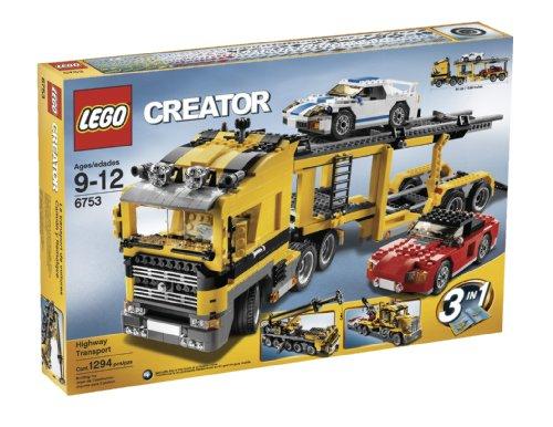 LEGO Creator Highway Transporter (6753) - Lego Creator Truck