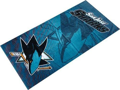 - The Northwest Company NHL San Jose Sharks Emblem Beach Towel, 28-Inch by 58-Inch