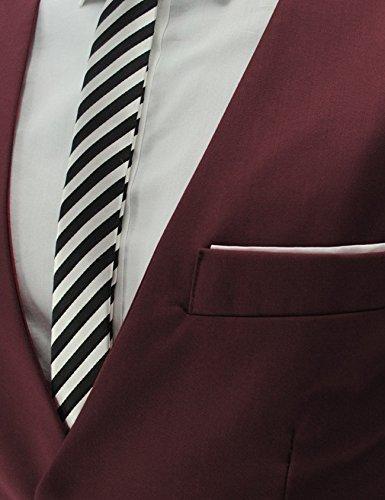 Veste Business Homme Sans Noir Casual De Costume Mariage Jueshanzj Gilet Manche q7x0pOZp1