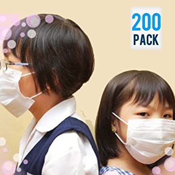 200 masques jetables