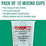 Custom Shop Pack of 12 Each - 16 Ounce Paint Mixing