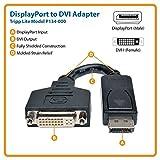 TRIPP LITE P134-000 DisplayPort to DVI Cable Adapter, Converter f/DP-M to DVI-I-F