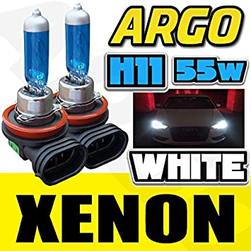 H11 711 55W XENON WHITE FRONT FOG LIGHT BULBS 12V CITROEN XSARA