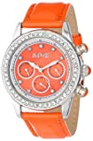 August Steiner Women's AS8018OR Multi-Function Dazzling Strap Watch