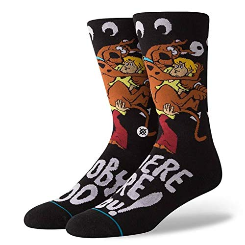 Stance Men's Scooby Doo Socks (Where Are You, Large)