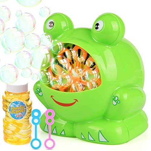Elover Bubble Machine with Bubble Solution