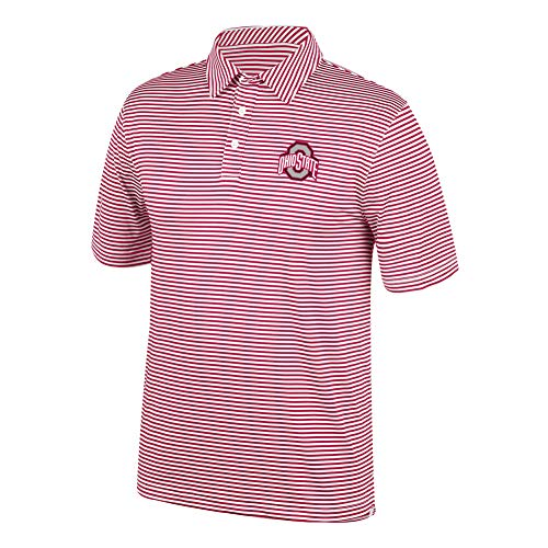 - Top of the World NCAA Men's Ohio State Buckeyes Team Color Stretch Bunker Polo True Red Large