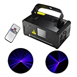 Mini IR Remote 8 CH DMX 512 Blue Color Stage Lighting DJ Party Disco Show Projector Lights ADM-B450