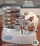 Pet Water Fountain Bubbling Bowl