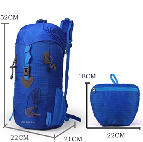 Outdoor Bergsteigen Paket Reise Multifunktionale Großraumrucksack,Yellow Blue