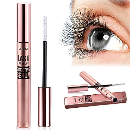 Eyelash Growth Serum,MayBeau 2019 Newest 100% Natural Eyebrow Lash Enhancer,Nourish Damaged Lashes and Boost Rapid Growth for Any Kind of Lash and Brow in 15 Days (3.5ML/Rose Gold)