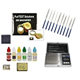 Jewelers Professional Testing and Organizer Equipment-Acids, Electronic Scale, Needle File Set, and More!