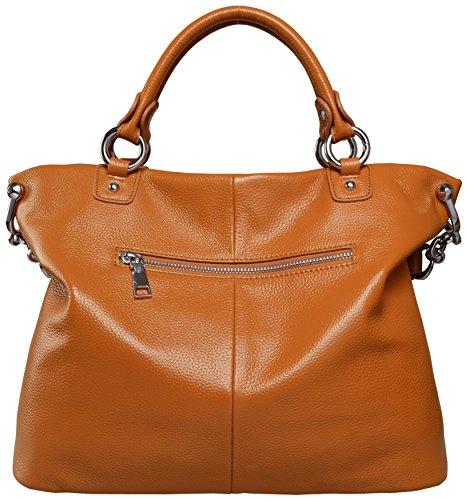 Women��s Handbags Heshe Leather Tote Light Bags for Ladies Satchel Handbag Shoulder Crossbodies handle Brown h Top aqwFwdgt