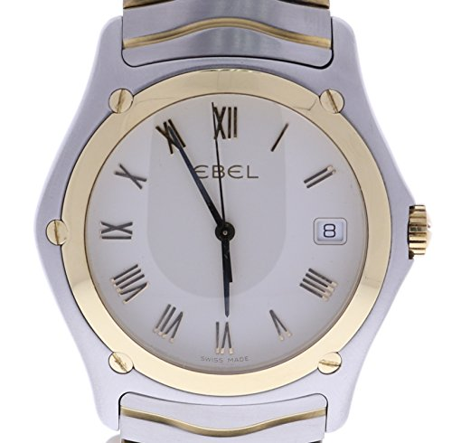 Ebel-Classic-Wave-analog-quartz-mens-Watch-E1187F41-Certified-Pre-owned