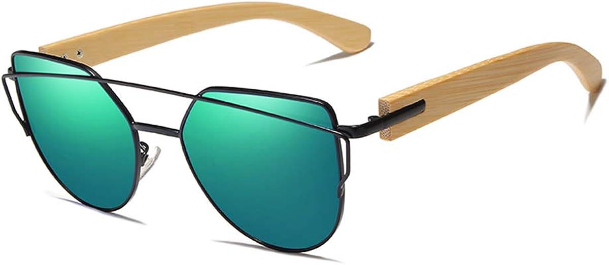 RTGreat Handmade Wood Sunglasses Des lunettes de soleil Men Bamboo Sunglass Women Design Original Wood Glasses Oculos De Sol Masculino Green Bamboo