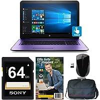 "HP 17-x102 Core Intel i3-7100, 8GB, 2TB HD, 17.3"" WLED Touchscreen Laptop Bundle (Certified Refurbished)"