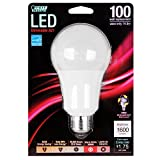 feit led bulb 100w - Feit Electric BPOM100/830/LED A21 3000k Dimmable LED, 100W