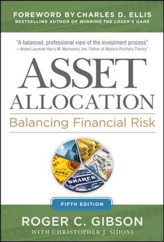 Asset Allocation: Balancing Financial Risk, Fifth Edition by Brand: McGraw-Hill