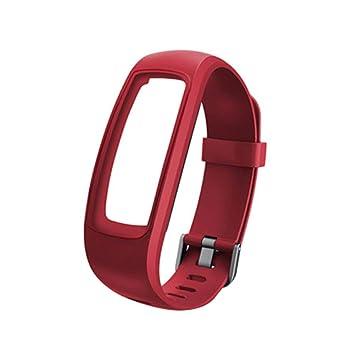 fiejns-zjy - Correa de Reloj Impermeable para ID107 107Plus ...