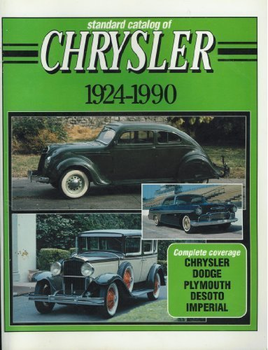 Standard Catalog of Chrysler, 1924-1990