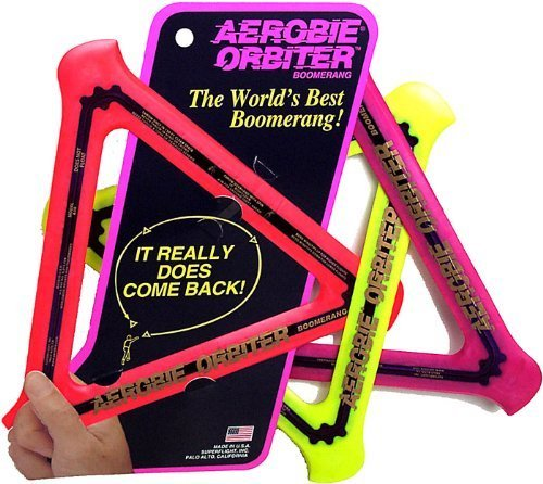Aerobie Orbiter Boomerang, Set of 3, Color May Vary