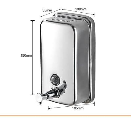 304El acero inoxidable dispensador de jabón de manos/Caja de jabón/la mano en