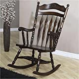 Bowery Hill Traditional Country Wood Rocker