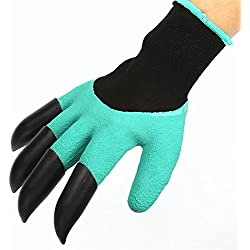 Garden Gloves with Fingertips Claws Quick– Great for Digging Weeding Seeding poking -Safe for Rose Pruning –Best Gardening Tool -Best Gift for Gardeners (Single Claw) (Single Claw)