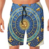 Best Hot Wheels Hot Cocoas - Haixia Men's Casual Board Short Astrology Wheel of Review