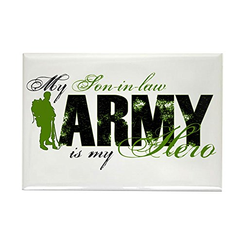 CafePress - Son-In-Law Hero3 - ARMY - Rectangle Magnet, 2