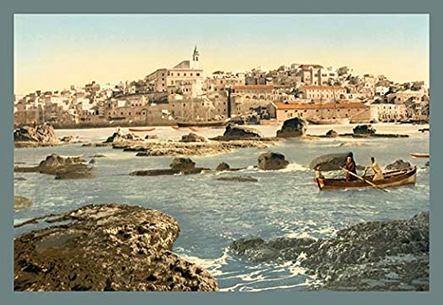 Buyenlarge The Holy Land - From The Sea - Gallery Wrapped 32''X48'' canvas Print., 32'' X 48'''' by Buyenlarge