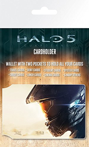 1art1 Halo Credit Card Holder Wallet for Fans Collectible - 5, Keyart (4 x 3 inches) from 1art1