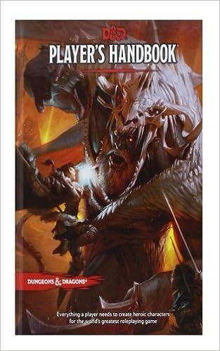 d&d fifth edition players handbook