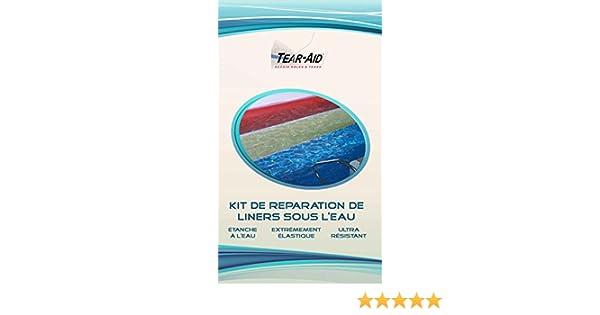 Kit de reparación instantánea y sin pegamento de azulejos y balsa de piscina [instrucciones en francés]: Amazon.es: Bricolaje y herramientas